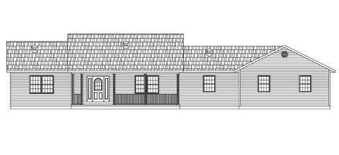 Residential Ranch Elevation 03