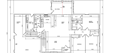 Residential Ranch Floor Plan 02