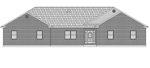 Residential Ranch Elevation 02