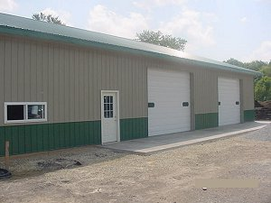 Storage Buildings Evergreen Roof Trim and Wainscot Hickory Moss Siding