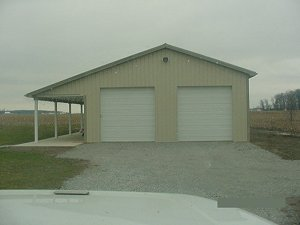Storage Buildings Hickory Moss Roof and Trim Lightstone Siding