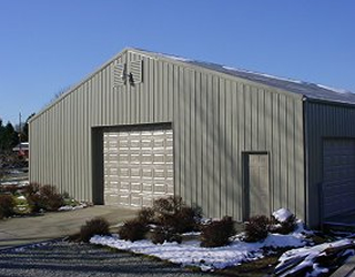 Pole Barn Storage Building
